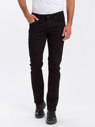 Cross Jeans Jeans 'Dylan' in black denim, Modelansicht