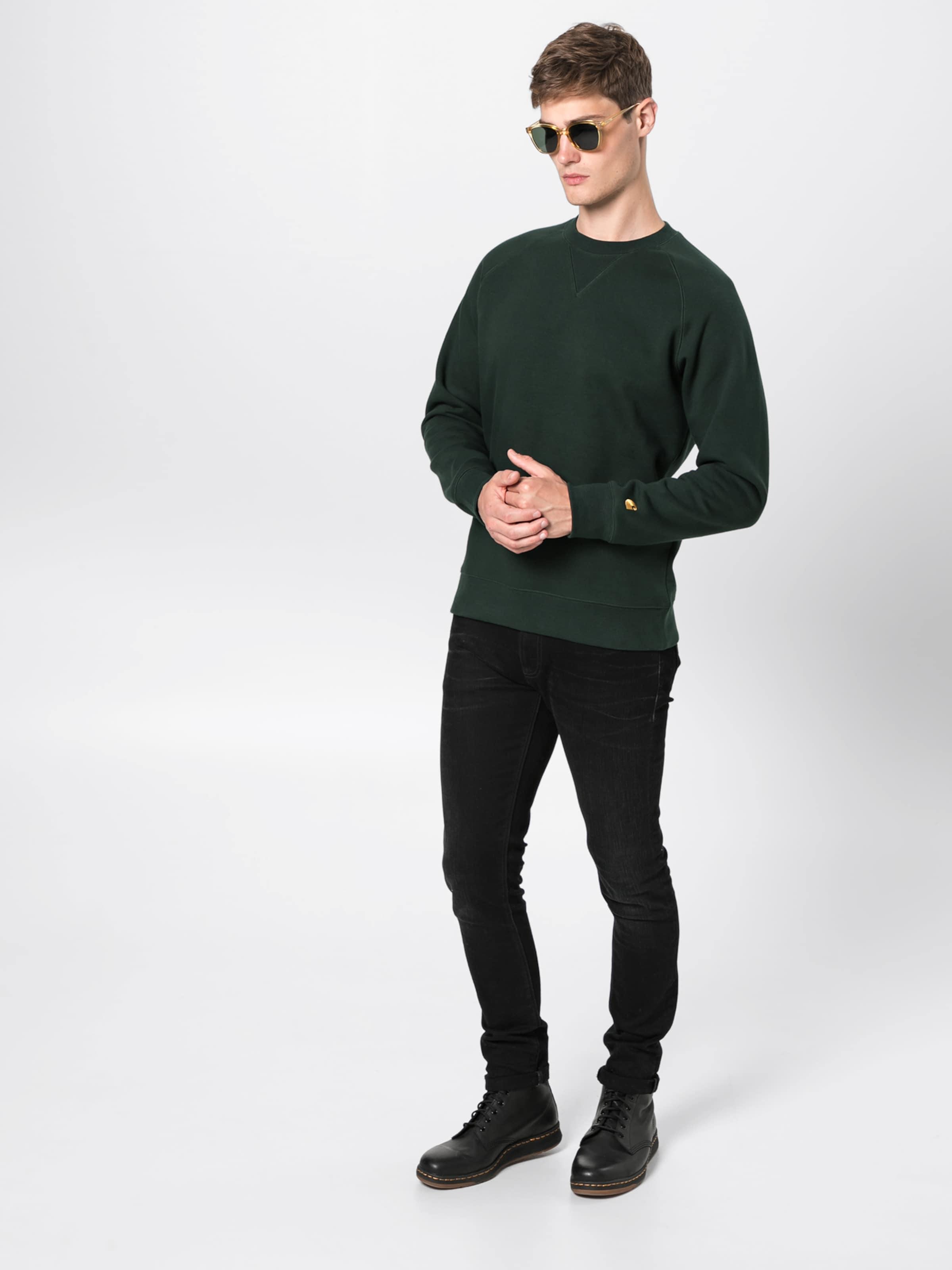 'chase' Wip Carhartt Sweatshirt In Tanne Nvm8n0w