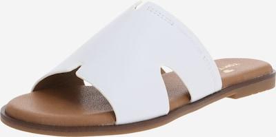 TOM TAILOR Klapki w kolorze białym, Podgląd produktu