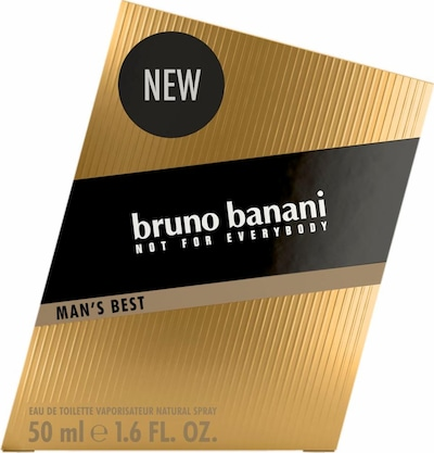 BRUNO BANANI 'Man's Best', Eau de Toilette in gold, Produktansicht