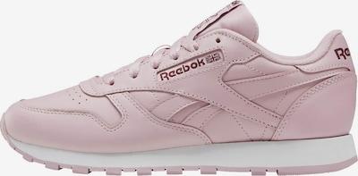 Reebok Classic Sneaker in hellpink / burgunder, Produktansicht