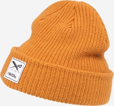 Iriedaily Bonnet 'Kreuzkoelln' en jaune foncé, Vue avec produit