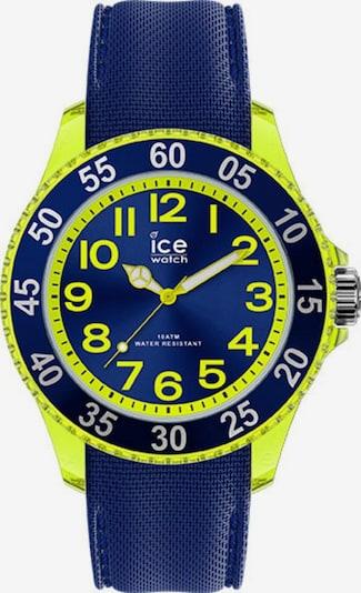 ICE WATCH Uhr in blau / neongelb, Produktansicht