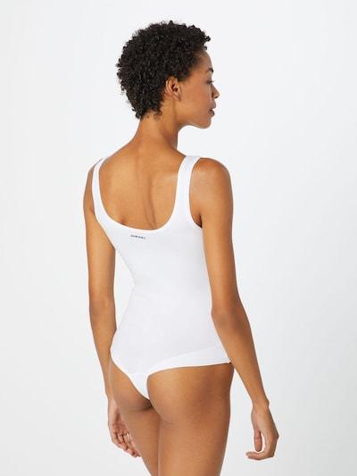 DIESEL Shirt Bodysuit in White: Rear view