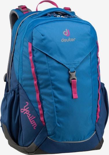 DEUTER Rucksack / Daypack ' Ypsilon ' in blau / dunkelblau / rot: Frontalansicht
