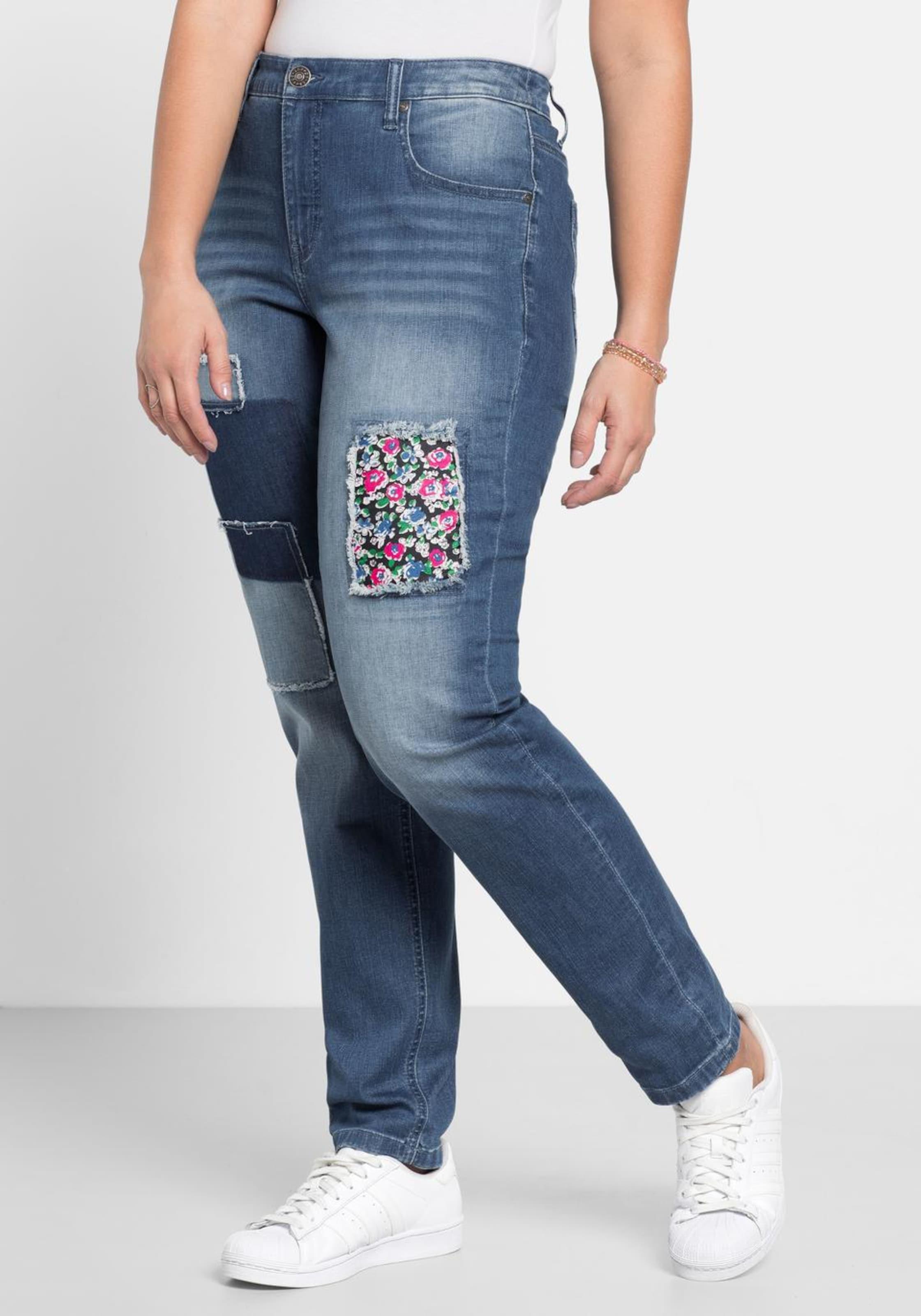 Sheego Sheego Sheego denim Stretch-Jeans in blau  Mode neue Kleidung 692dea