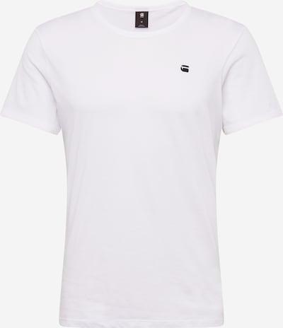 G-Star RAW Shirt 'Base-s' in de kleur Zwart / Wit, Productweergave