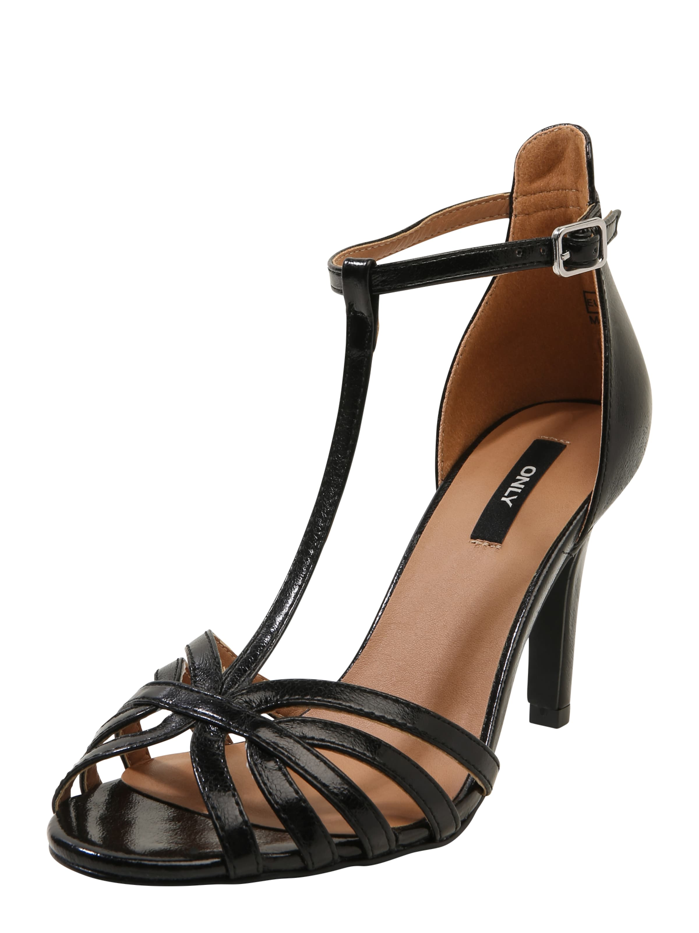 ONLY 'ABBY Sandalette SANDAL' ONLY Stiletto PU Stiletto HEELED 5wSPS1qIW