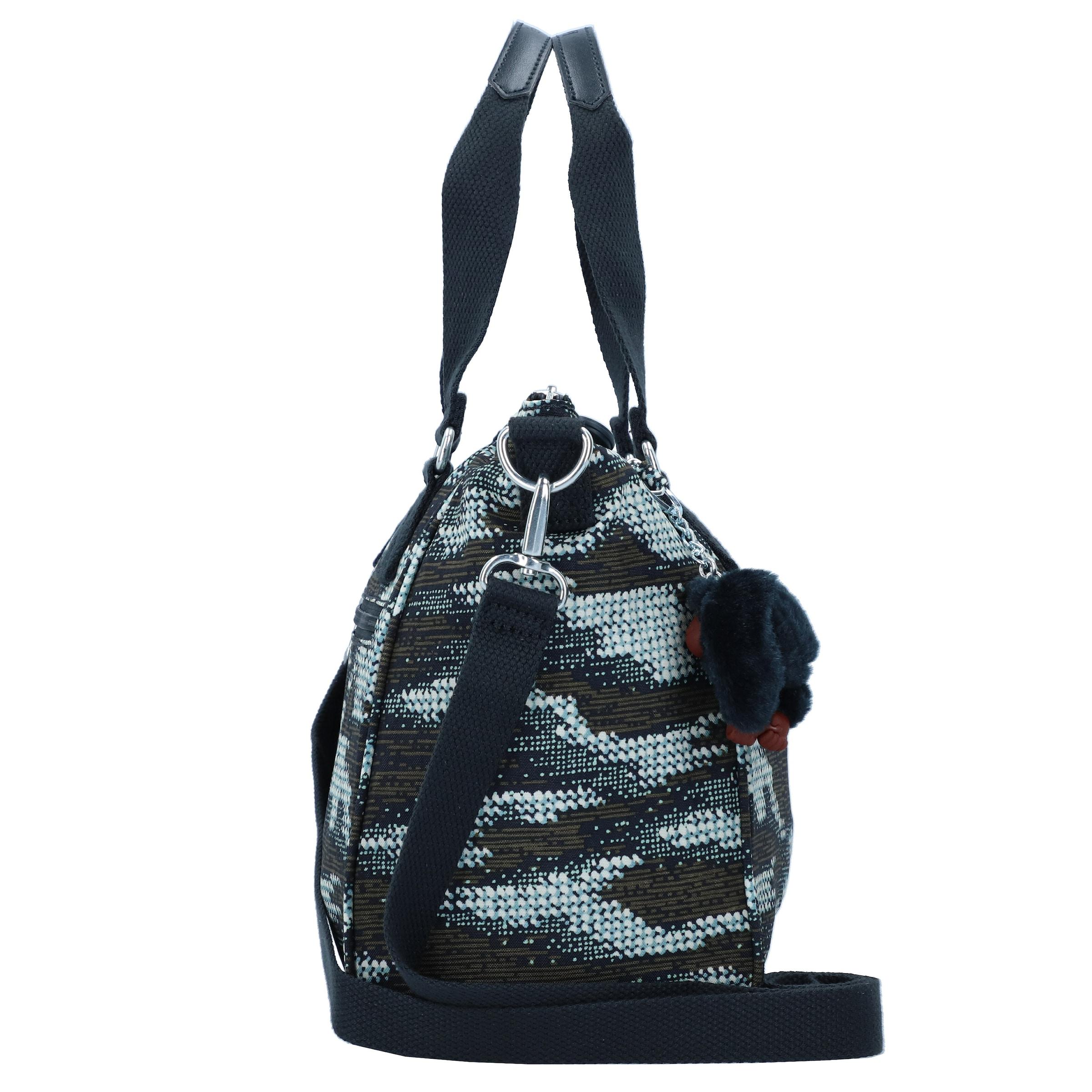 Khaki 'amiel' NachtblauHellblau In Weiß Kipling Handtasche JcuF31TK5l