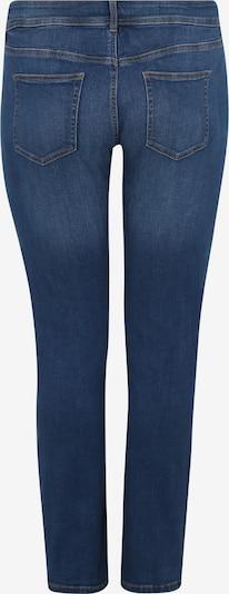 MY TRUE ME Džinsi 'basic slim leg denim Denim Long 1/1 2' pieejami zils džinss: Aizmugures skats