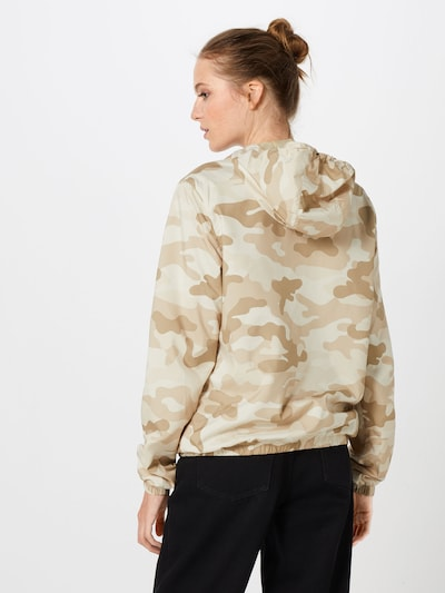 Urban Classics Jacke in beige / braun: Rückansicht