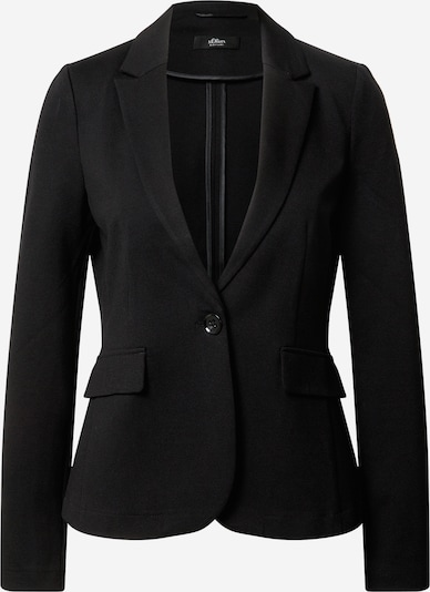 s.Oliver BLACK LABEL Blazer in black, Item view