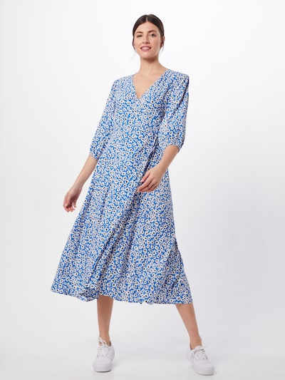 minimum Kleid 'Elmina' in blau, Modelansicht