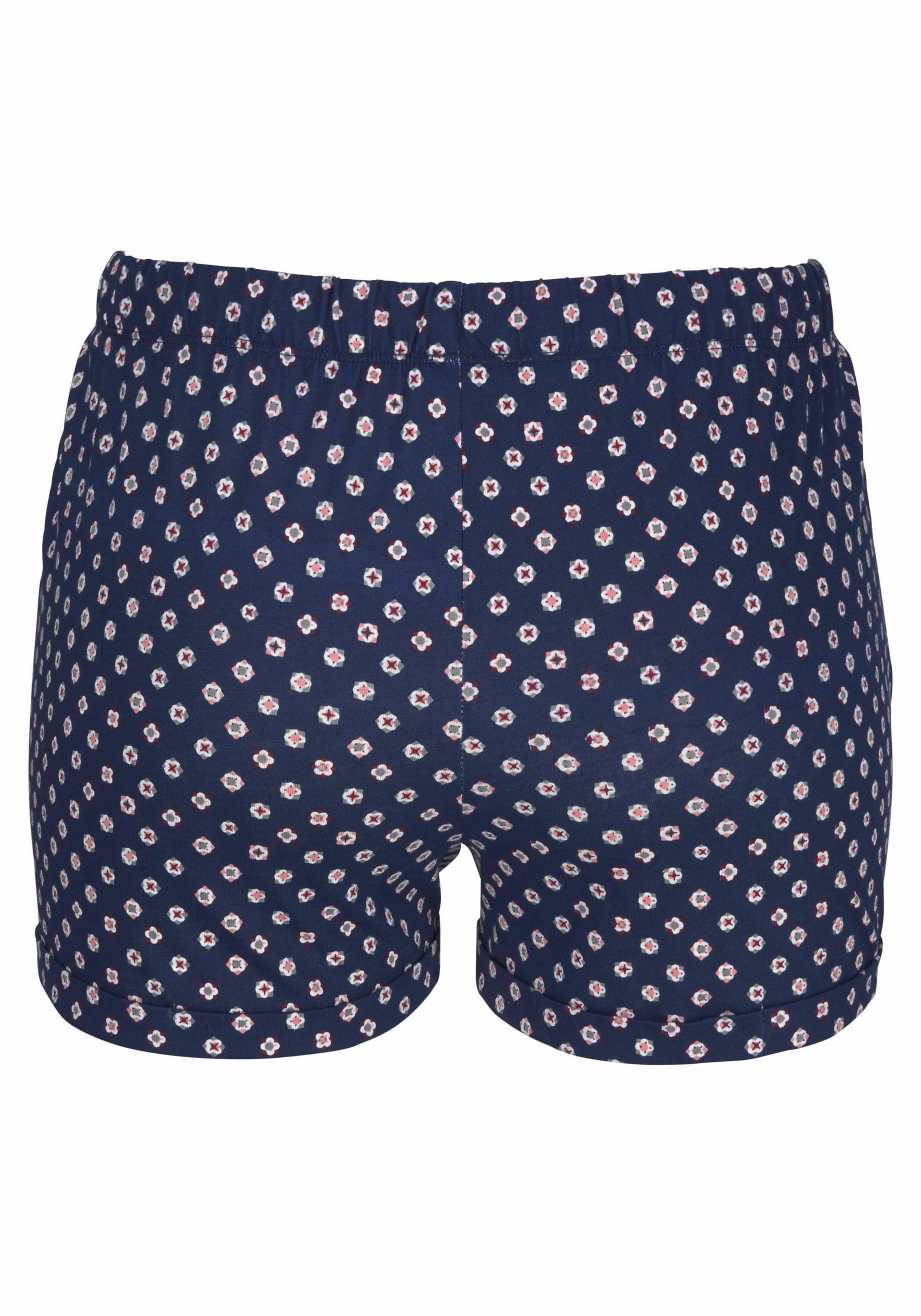 Fleur Allover Mit In Shorts muster BlauRosa Petite rCBdoex