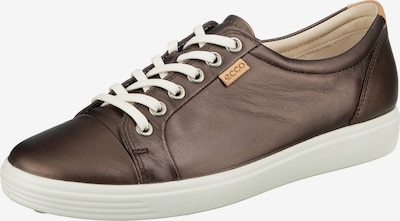 ECCO Sneaker 'Soft 7' in taupe: Frontalansicht