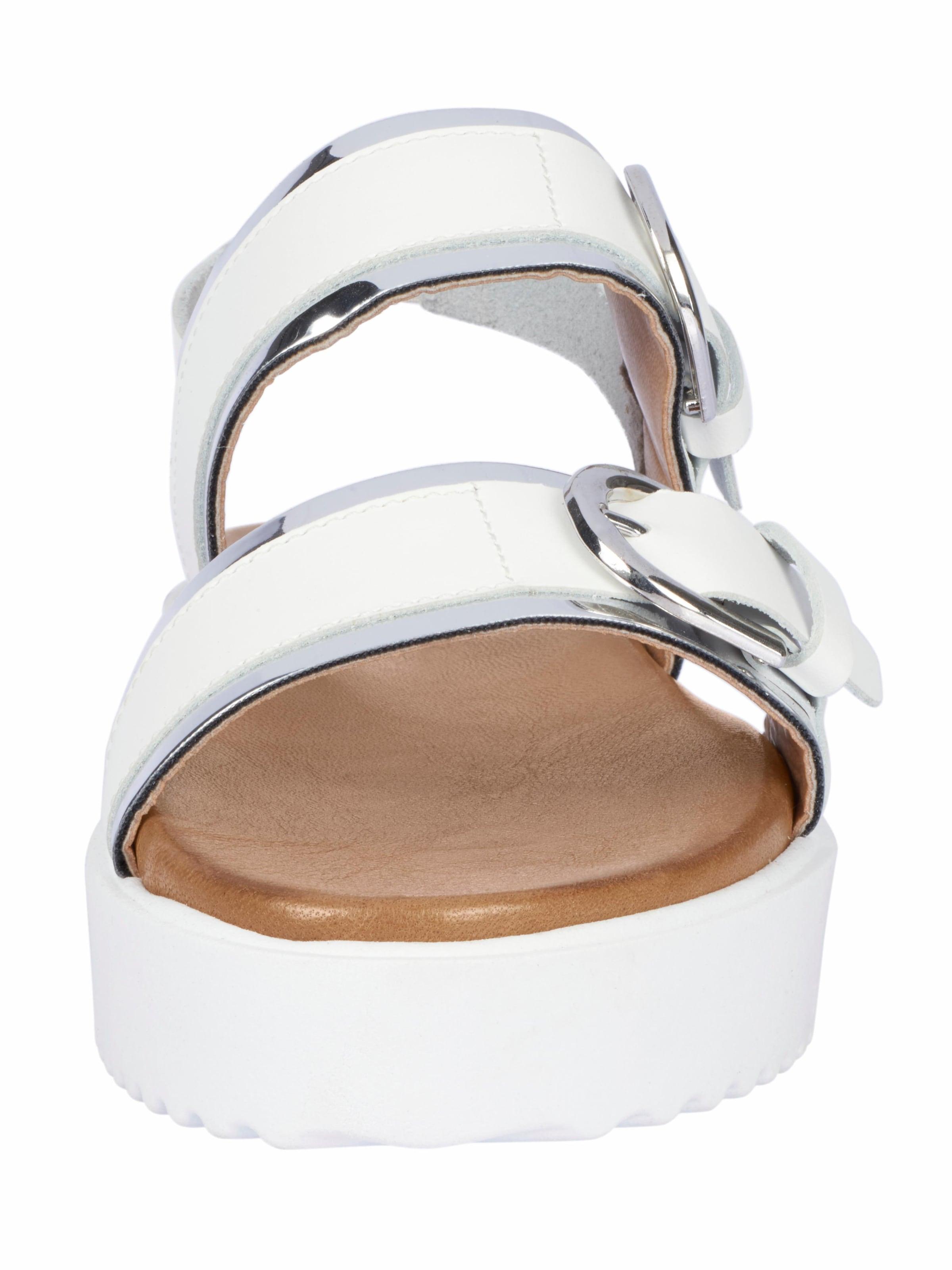 Verkauf Exklusiv Webseiten Günstig Online heine Sandalette mit Zierschließen Rabatt Für Billig tmcke