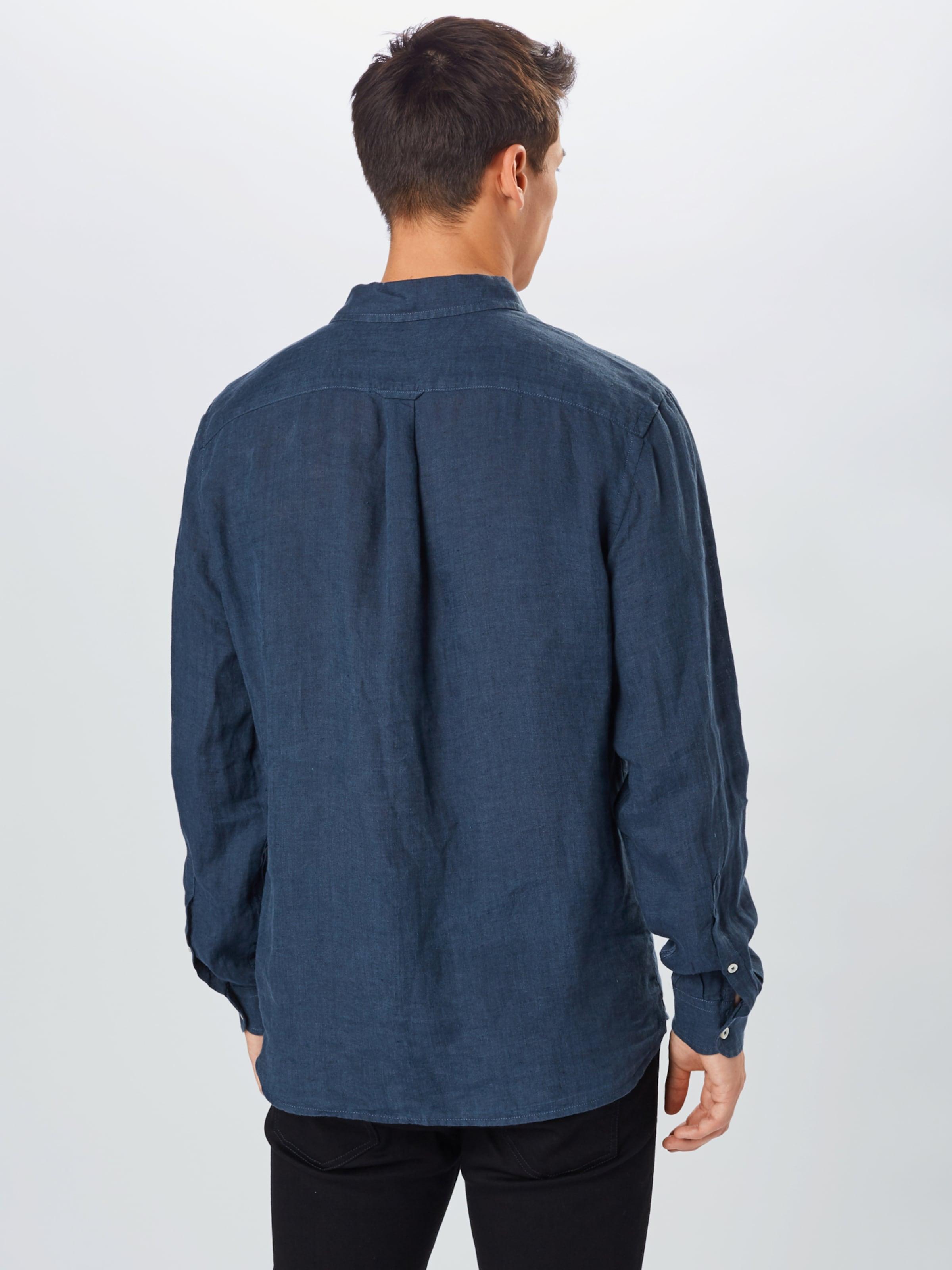 UNITED COLORS OF BENETTON Skjorta i blå