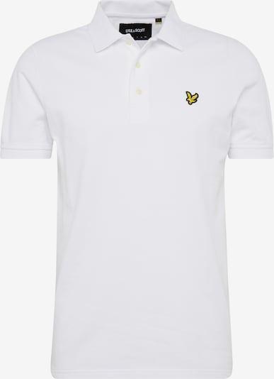 Lyle & Scott Poloshirt in weiß, Produktansicht