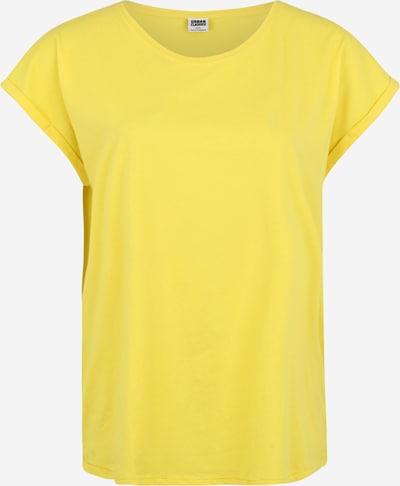 Urban Classics Curvy Majica | rumena barva, Prikaz izdelka