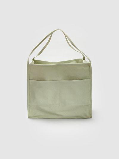 EDITED Tasche  'Merrit' in grün: Frontalansicht