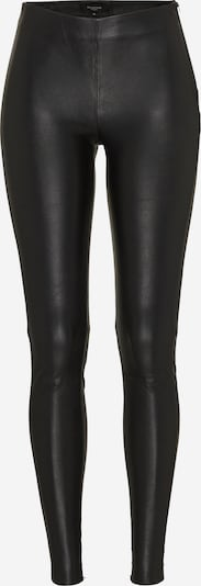 fekete SELECTED FEMME Leggings 'SFSYLVIA MW STRETCH LEATHER', Termék nézet