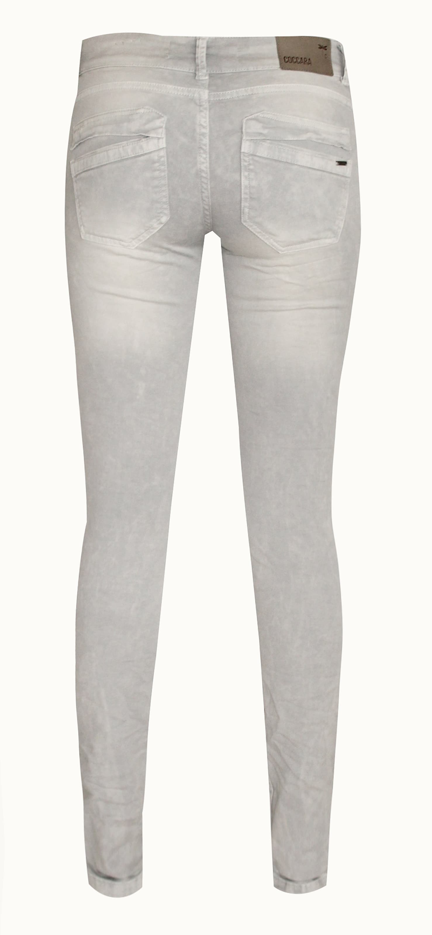 COCCARA Jeans Jeans Jeans 'Curly' in grau denim  Mode neue Kleidung fbbb05
