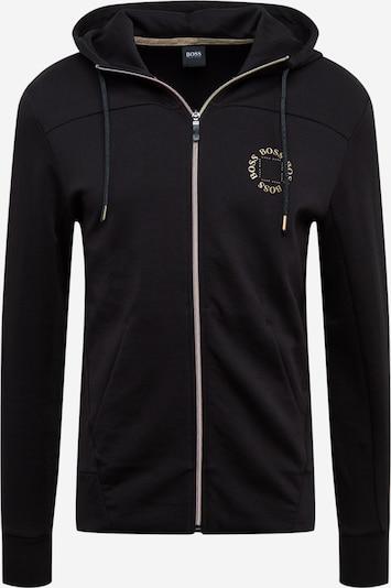 BOSS ATHLEISURE Sweatjacke 'Saggy Circle' in schwarz, Produktansicht