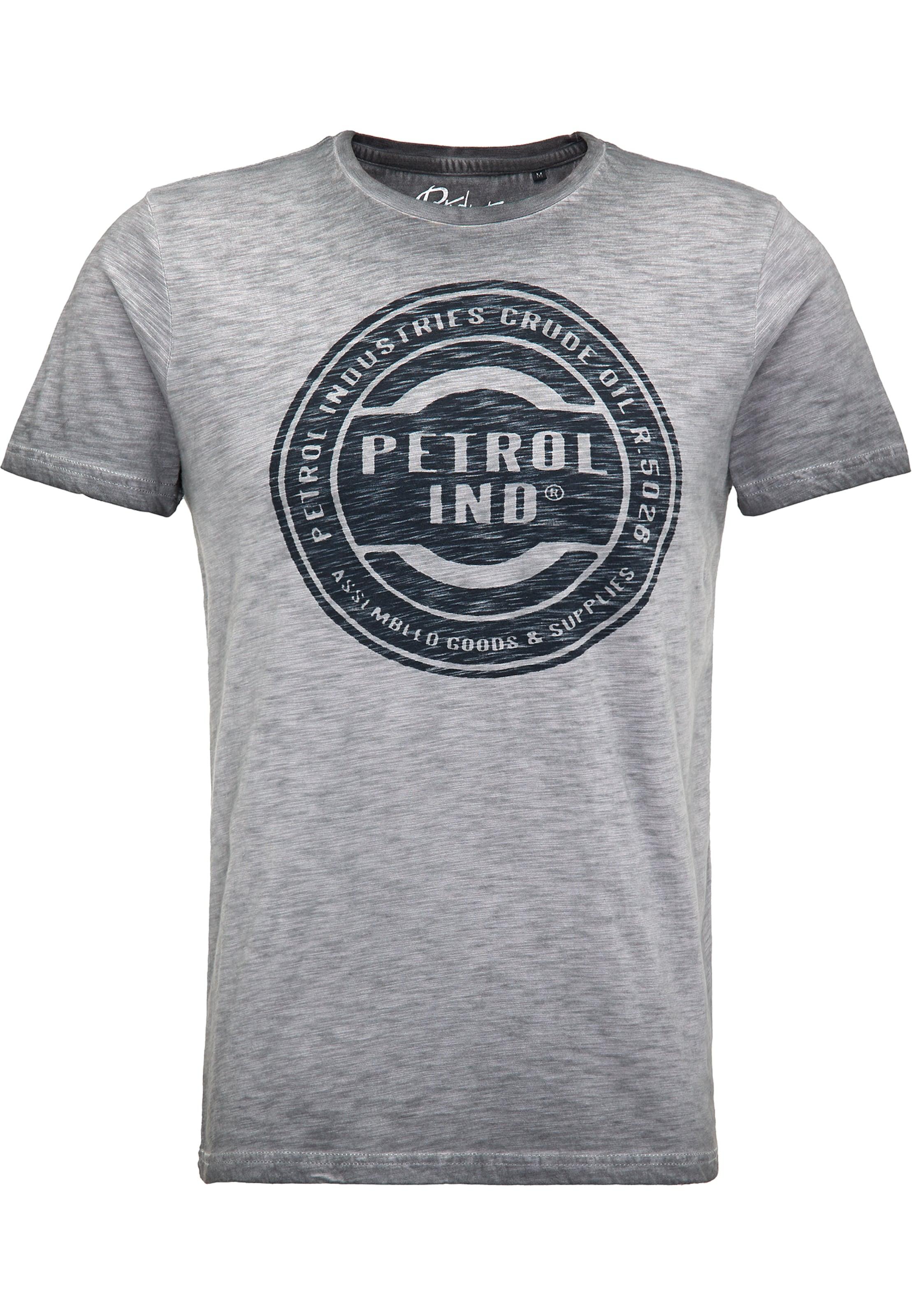 shirt T En Industries Petrol Gris 35L4AqRj