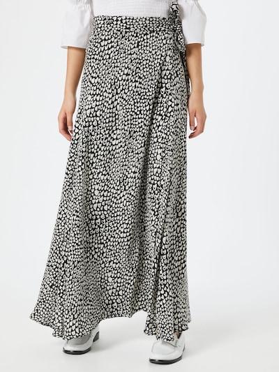 Fabienne Chapot Spódnica 'Bobo Skirt' w kolorze czarny / białym: Widok z przodu