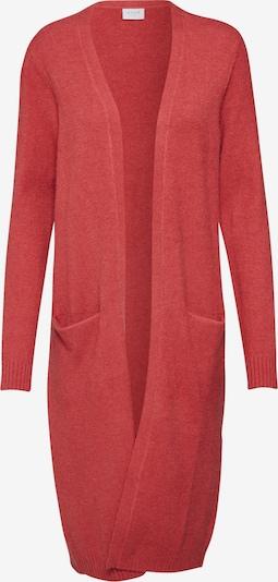 VILA Strickcardigan 'Ril' in rot, Produktansicht