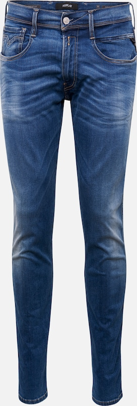 REPLAY Jeans 'ANBASS Hyperflex' in blue denim, Produktansicht