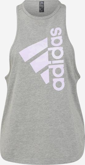 Sportiniai marškinėliai be rankovių iš ADIDAS PERFORMANCE , spalva - šviesiai pilka / alyvinė spalva, Prekių apžvalga
