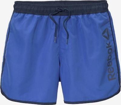 REEBOK Badeshorts in blau, Produktansicht