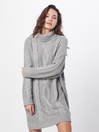 MINKPINK Kleid 'JANINE CABLE JUMPER DRESS' in grau, Modelansicht