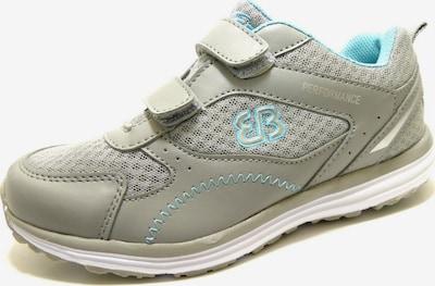 Brütting Laufschuh in hellblau / grau, Produktansicht