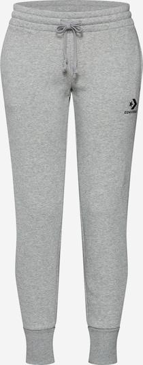 Kelnės iš CONVERSE , spalva - šviesiai pilka / juoda, Prekių apžvalga