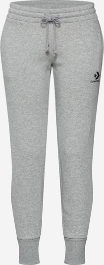 CONVERSE Nohavice - svetlosivá / čierna, Produkt