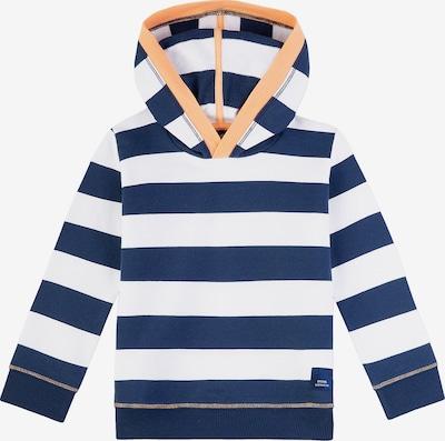 Sanetta Kidswear Sweatshirt in dunkelblau / apricot / weiß, Produktansicht