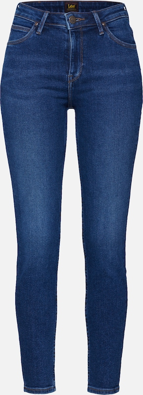 Lee Jeans 'Scarlett High' in blue denim, Produktansicht