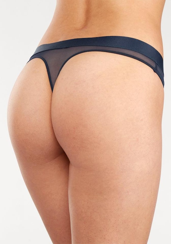 Hilfiger Underwear String With Printed Elastic