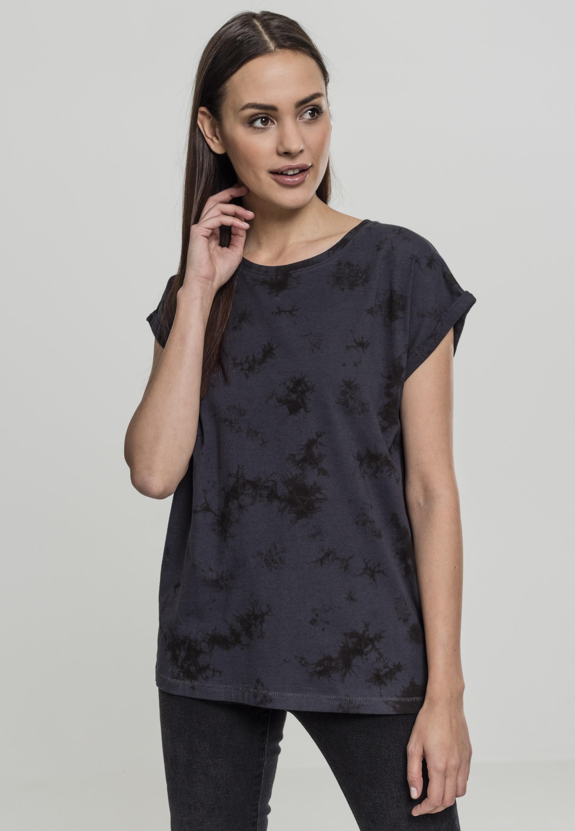Shoulder In Classics Tee' NachtblauSchwarz Urban 'ladies Shirt Batic Extended kXN8nw0OP