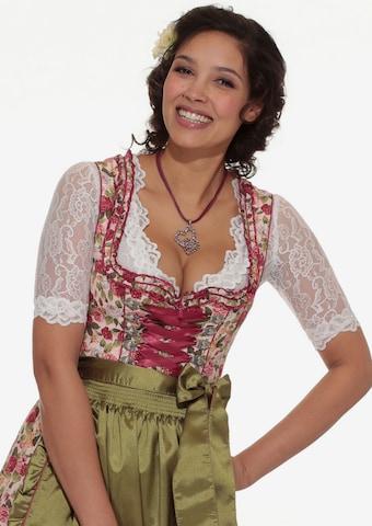 balta Krüger Madl Tradicinė palaidinė
