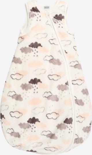 JACKY Schlafsack in grau / rosa / weiß, Produktansicht