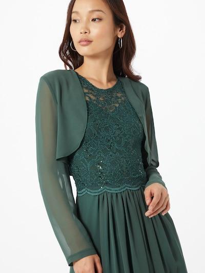 SWING Bolero in de kleur Jade groen, Modelweergave