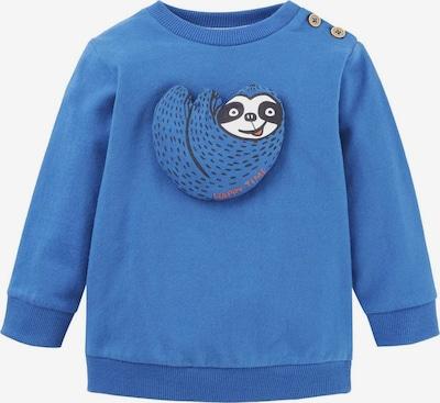 TOM TAILOR Strick & Sweatshirts Sweatshirt mit Tier-Motiv in blau: Frontalansicht