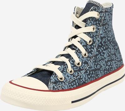 CONVERSE Sneaker 'CHUCK TAYLOR ALL STAR - HI' in blau / weiß, Produktansicht