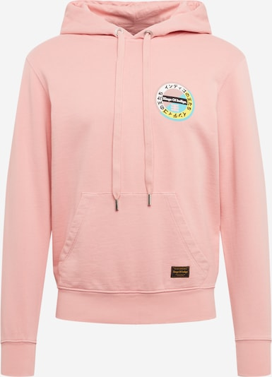 Kings Of Indigo Sweat-shirt 'NARA' en abricot / orange pastel / rose, Vue avec produit