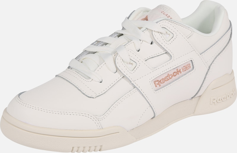 Plus' 'workout Classic Baskets ArgentBlanc Basses En Reebok A3L5Rj4