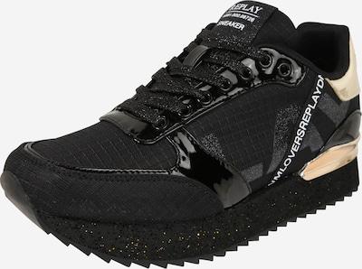 REPLAY Sneaker in schwarz / platin, Produktansicht