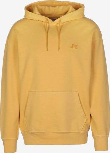 LEVI'S Sweatshirt 'AUTHENTIC' in de kleur Donkergeel, Productweergave